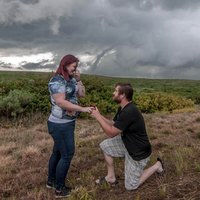 Texas Storm Chaser Combines His Two Loves in One Unforgettable Proposal Scene
